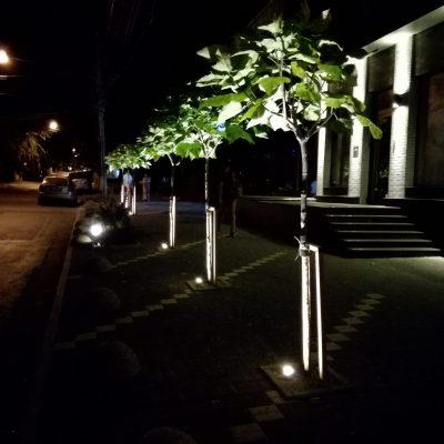 Montare sistem iluminare decorativa